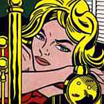 "Roy Lichtenstein ""Blonde waiting"", 1964"