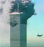 Attack on the WTC. Foto AP